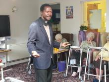 Revd Joseph at Edmore House